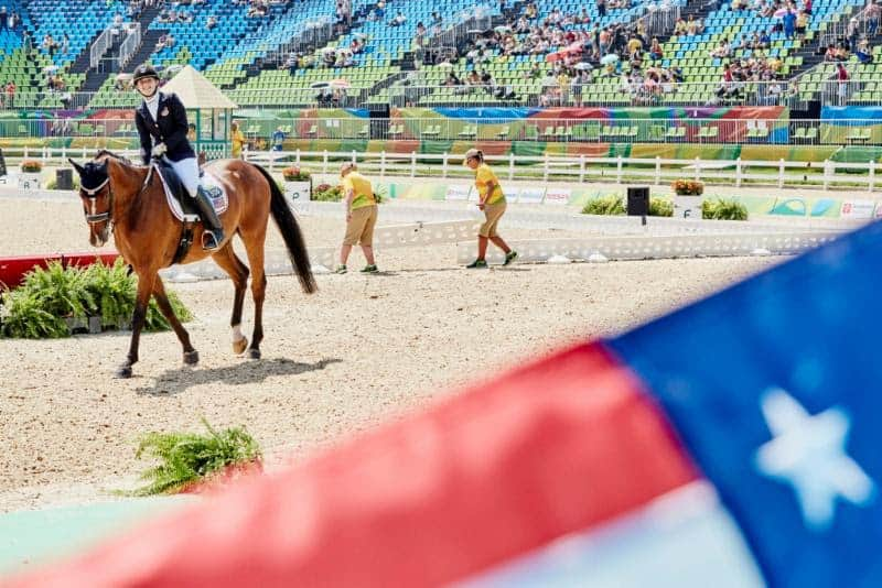 Strong Start for U.S. Equestrian Team at the  Rio Paralympic Games