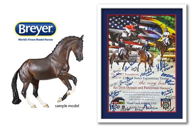 Win Custom Breyer® Horse Model and Autographed Rio Olympics Poster in USET Foundation's PonyUp! Contest