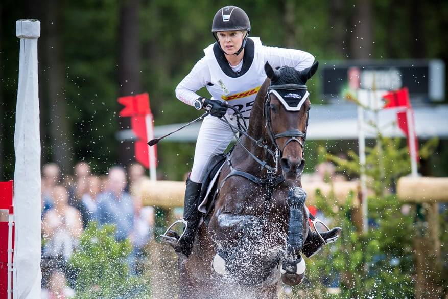Leading U.S. Eventing Team, Marilyn Little Rides to Finish Fourth at Luhmühlen CCI4*