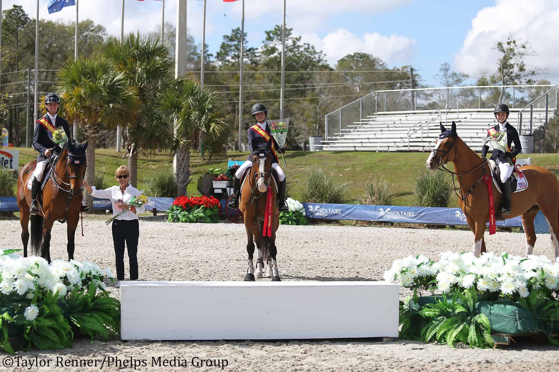 The USA's Stars and Stripes team took home the silver medal in the Junior Nations Cup at CSIJCH Ocala.