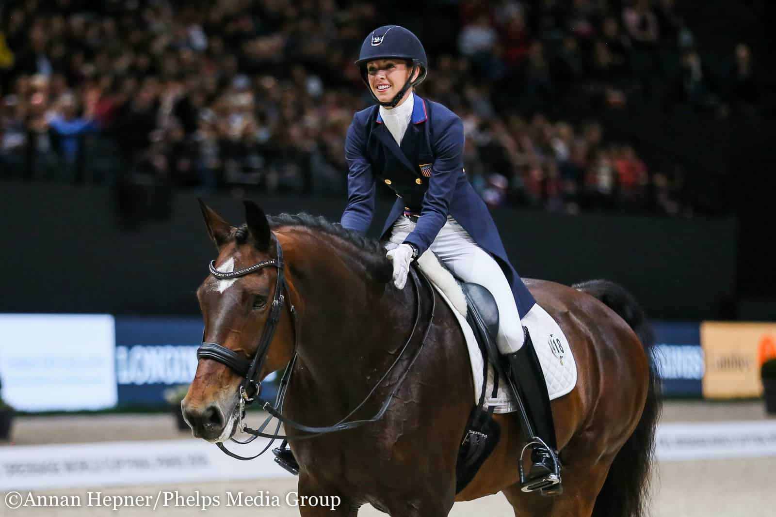 Laura Graves And Verdades Earn Personal Best In Grand Prix