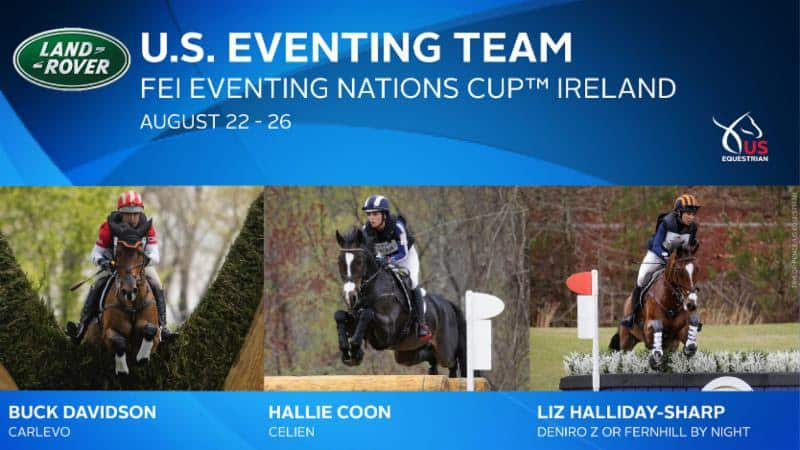 Land Rover U.S. Eventing Team Perseveres at FEI Eventing Nations Cup™ Ireland