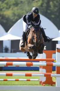 Samantha Cohen and Billy Fanta. Photo: © LGCT/Sportfot