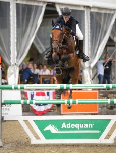 Madison Goetzmann and Prestigious. Photo: © Taylor Pence/US Equestrian