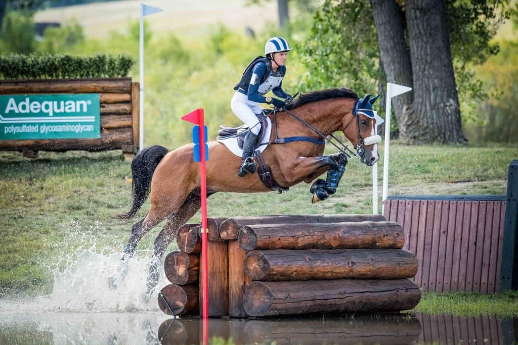 Emilee Libby at the 2018 American Eventing Championships (AEC). Photo: Shannon Brinkman Photography