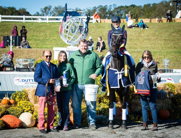 Thieriot Stutes and Chatwin win The Dutta Corp./USEF CCI3* Eventing National Championship (Photo by Shannon Brinkman Photo)