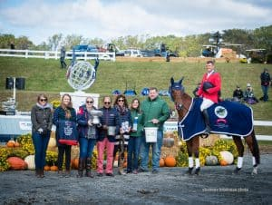Martin and On Cue Win The Dutta Corp./USEF CCI2* Eventing National Championship (Photo by Shannon Brinkman Photo)