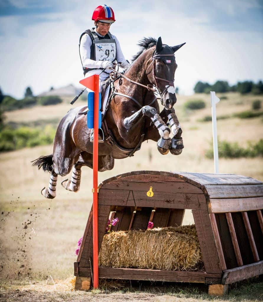 Tamara Smith and Mai Baum competing at the 2018 American Eventing Championships (AEC). Photo: Shannon Brinkman Photography