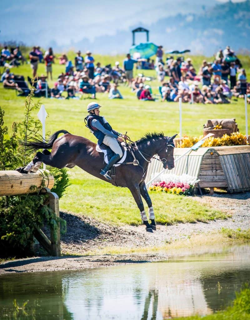 Frankie Thieriot Stutes competing at Rebecca Farm. Photo: Shannon Brinkman Photography