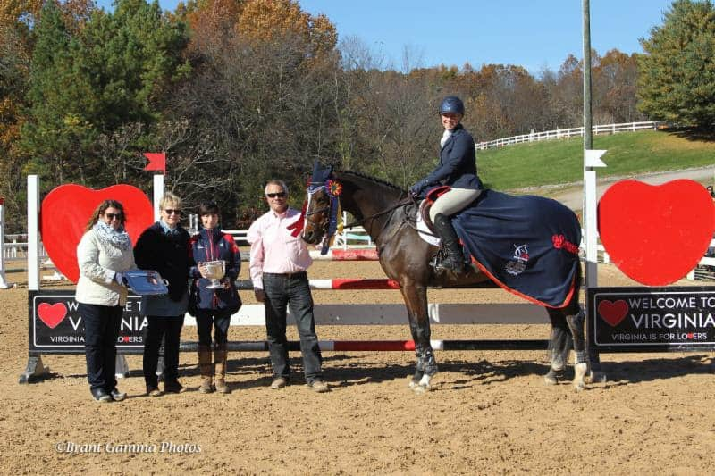 Colleen Rutledge and C Me Fly Jump to Win the USEF CCI1* Eventing National Championship
