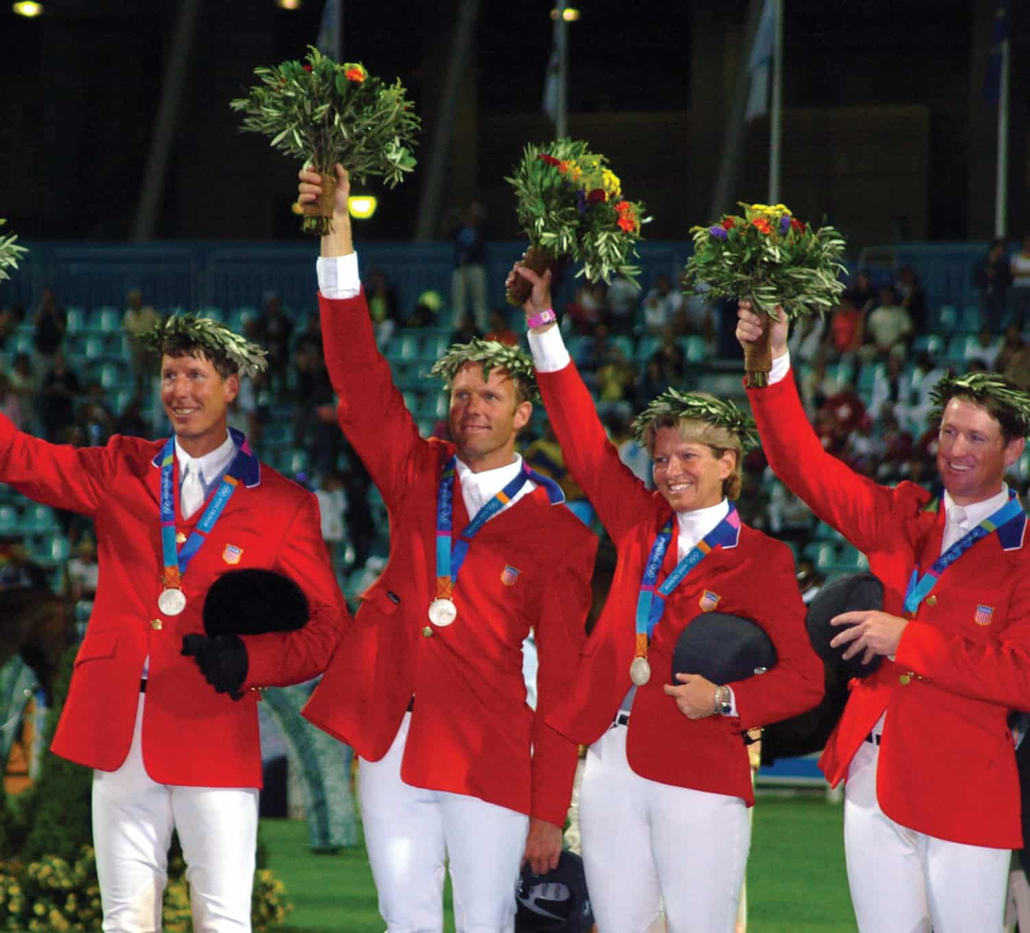 jumping-2004-olympics-by-Beezie-Podium-2004-Olympics-Athens-by-Diana-De-Rosa-Photography