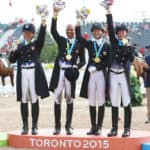 Kimberly Herslow, Steffen Peters, Sabine Schut-Kery and Laura Graves