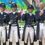 Kasey Perry-Glass, Laura Graves, Allison Brock and Steffen Peters